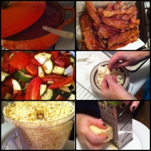 be lasagna prep