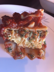 be lasagna slice